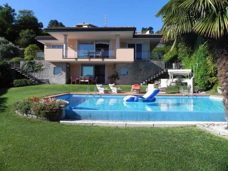 Modern Villa with Views of Lake Maggiore - Casa Meina - Image 1 - Meina - rentals
