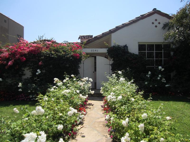 Front Yard - Designer Perfect Spanish Home with Pool and Spa - Los Angeles - rentals