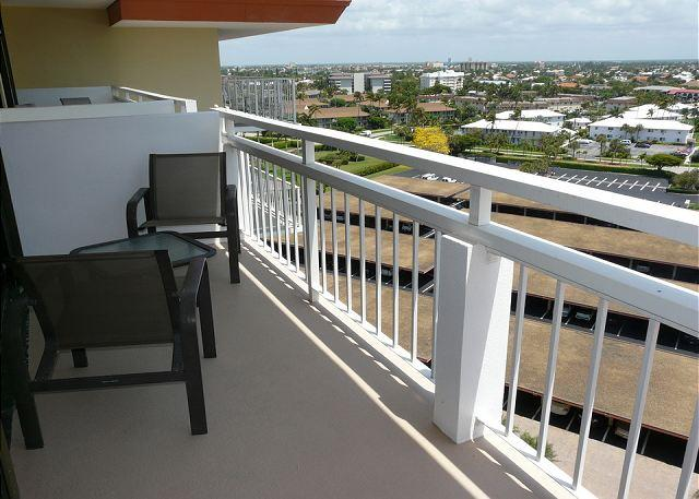 Balcony and View - Tradewinds 1104 - Marco Island - rentals
