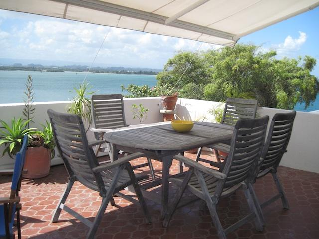 Terrace with view of bay - Stunning View and Apt in OLD SAN JUAN - San Juan - rentals