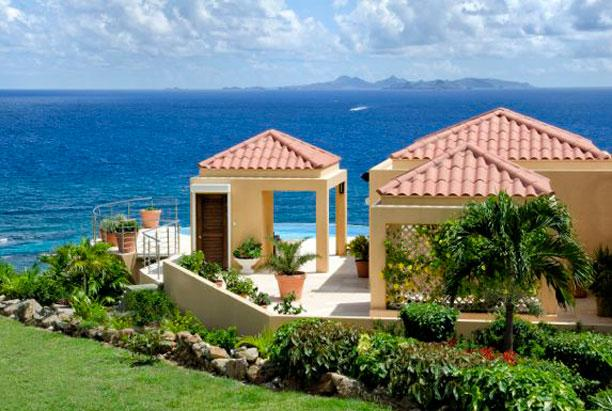 SPECIAL OFFER: St. Martin Villa 220 The Villa Is Perched On The Hillside With Stunning Views Of The Ocean. - Image 1 - Oyster Pond - rentals
