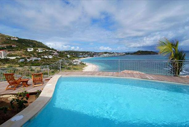 SPECIAL OFFER: St. Martin Villa 222 Boasts One Of The Most Expansive Ocean Views On The Island With 270 Degree Views. - Image 1 - Dawn Beach - rentals