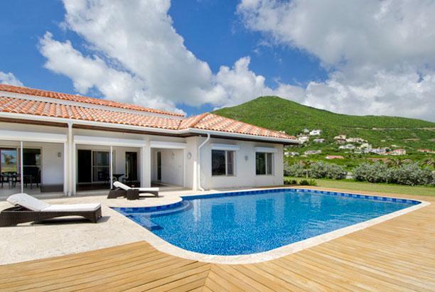 SPECIAL OFFER: St. Martin Villa 225 Large Sliding Glass Doors Open Onto An Outdoor Extensive Terrace Area. - Image 1 - Guana Bay - rentals