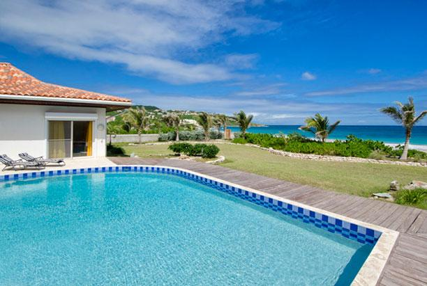 SPECIAL OFFER: St. Martin Villa 224 Directly On Guana Bay Beach Offering Over 5,000 Sq Feet Of Living Space. - Image 1 - Guana Bay - rentals