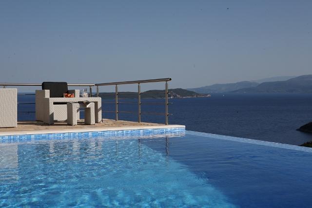 Private villa, swimminpg pool, sea views, garden, BBQ, including motorboat, Sivota, Lefkada - Image 1 - Lefkas - rentals