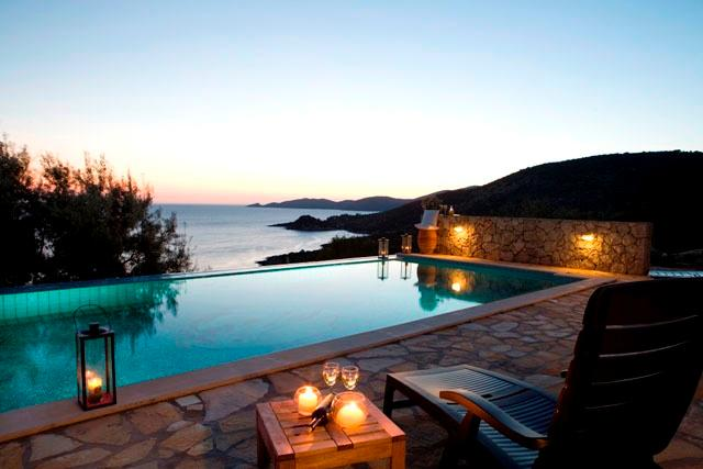 Secluded private villa with private pool, sea views, close to beach near Vassiliki - Image 1 - Lefkas - rentals