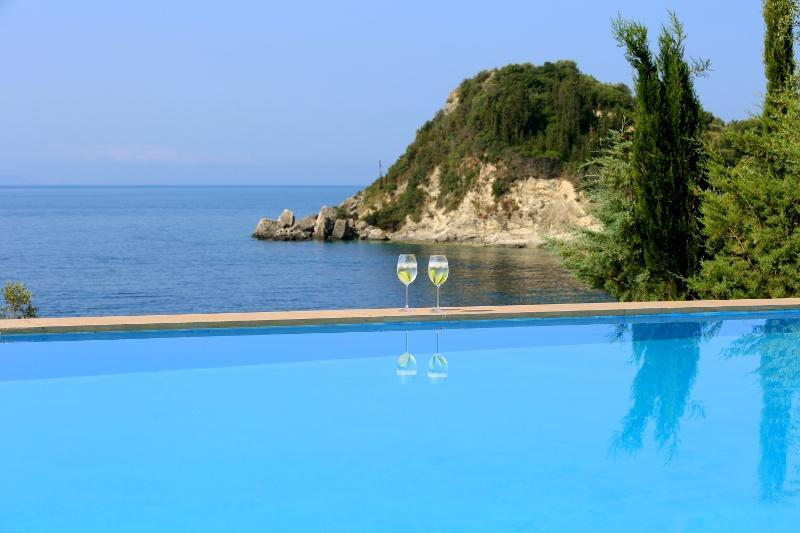 Waterfront villa with private swimming pool, Amousso LEFKADA - Image 1 - Vasiliki - rentals
