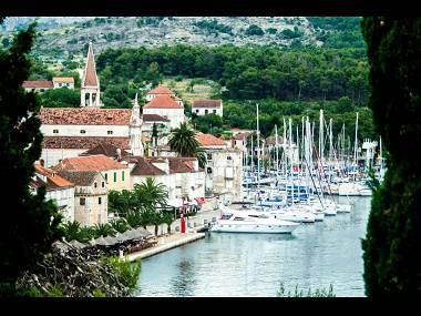A1(4+1): terrace view - 5333  A1(4+1) - Milna (Brac) - Milna (Brac) - rentals
