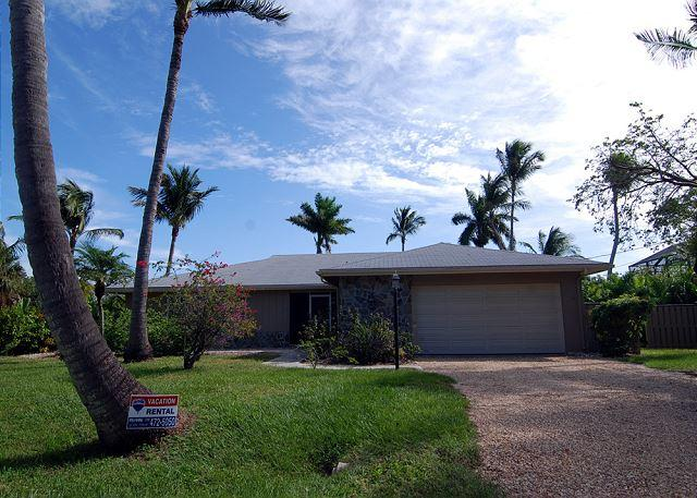 Exterior - Ground level home in West Rocks - Sanibel Island - rentals