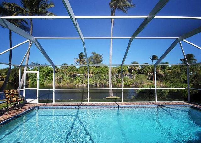 Pool - Beautiful Three bedroom ground level home with pool in West Rocks - Sanibel Island - rentals