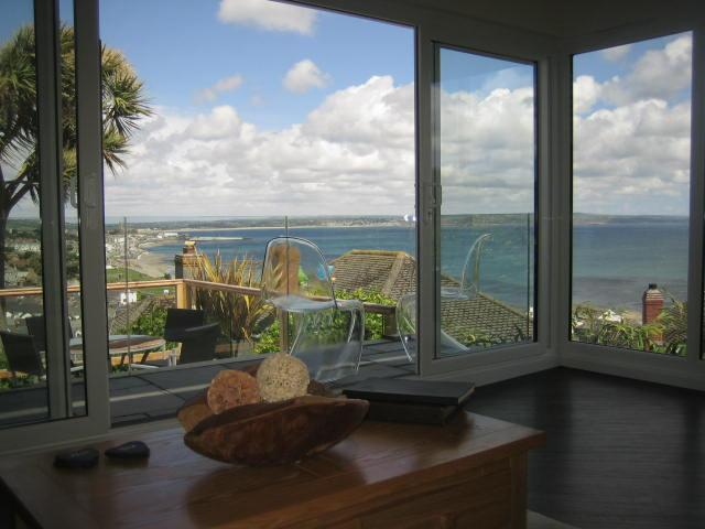 The view. - SUNSEEKER.DETACHED 3 BEDROOMED BUNGALOW . - Newlyn - rentals
