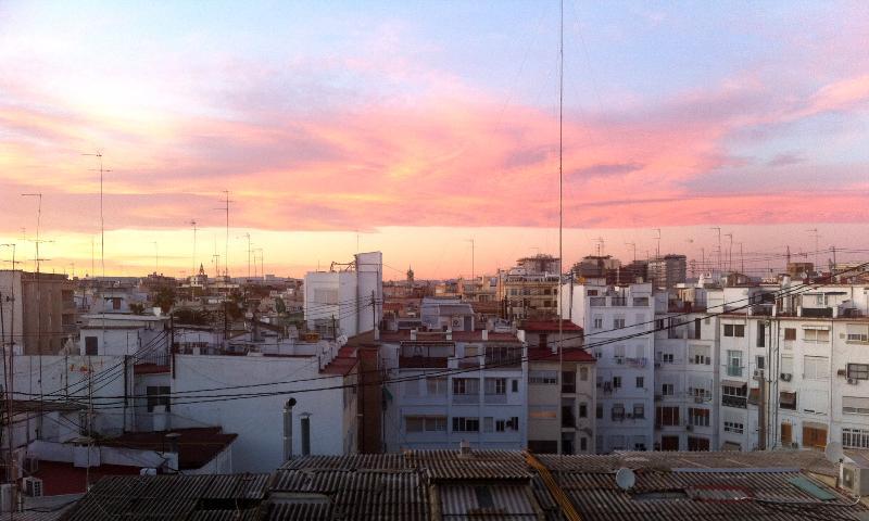 view from terrace - PENTHOUSE FULL CITY VIEW - Castellon de la Plana - rentals