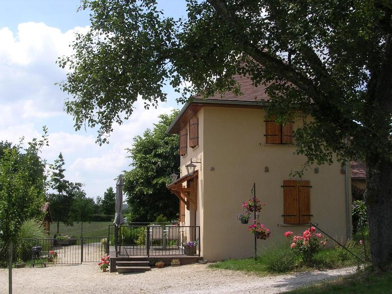 Gite La Grenouille with terrace and garden - Charming cottage in Hautefort Dordogne with pool + wifi - Hautefort - rentals