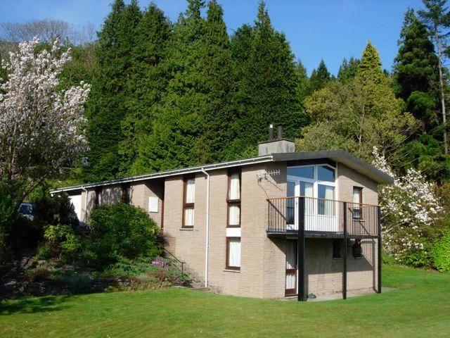 Fintry from the garden - Fintry Chalet West Coast of Scotland - Dunoon - rentals