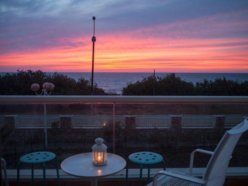sunset - LaMer Beachfront Suite  on the sea - Nahariya - rentals
