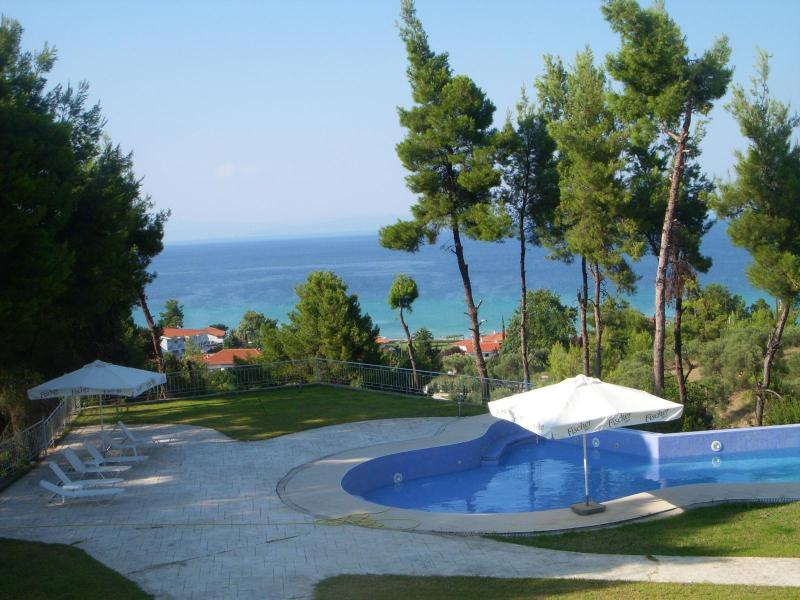 Villa with a pool between mountain and sea - Image 1 - Kriopigi - rentals