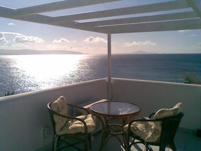 Veranda sea view - Villa with panoramic sea view - Paros - rentals