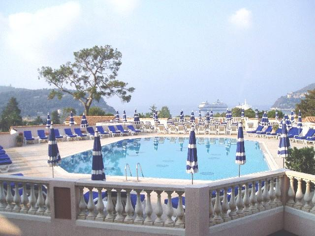 Swimming pool - Apartment seaview Pool Anna - Villefranche-sur-Mer - rentals