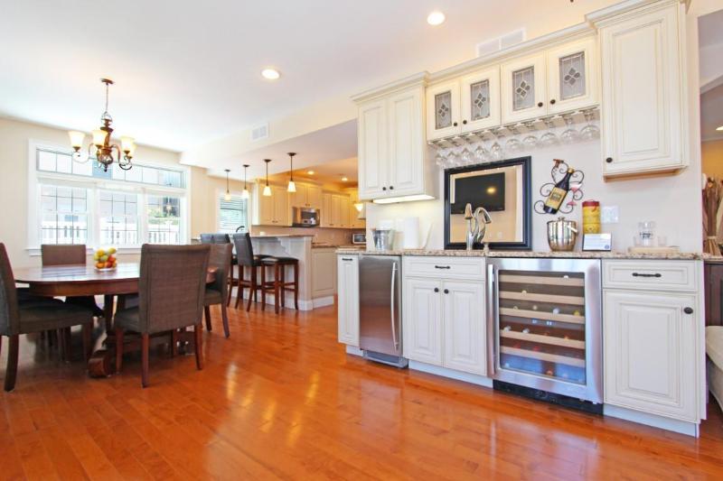 Wet sink / wine refrig / ice maker - Ocean Block Home - 8 Beds, 5 Baths - Atlantic City - rentals