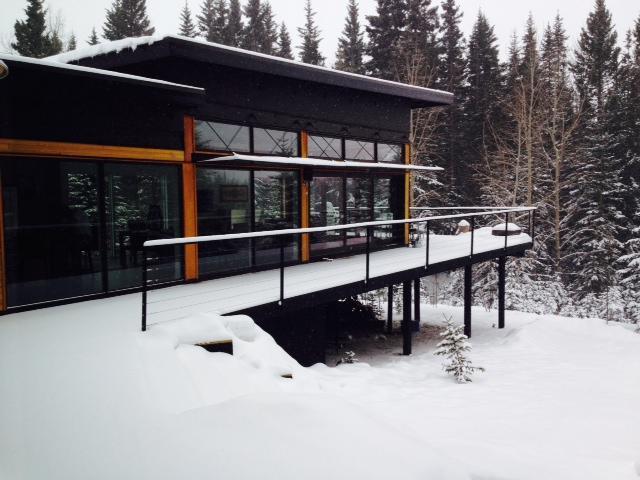 Luxury modern riverfront oasis, Winter Wonderland - Bergen Alberta - Image 1 - Alberta - rentals