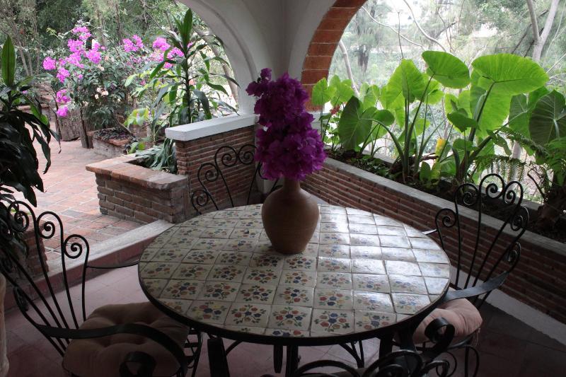 Terraza privada para comidas