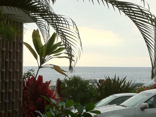 View from the lanai - 1 BR 1 BA  View Condo in Ocean Front Alii Villas - Kailua-Kona - rentals