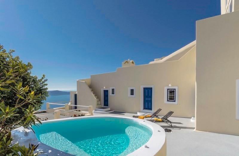 Astraea House - Centrally located villa in Fira - Image 1 - Fira - rentals