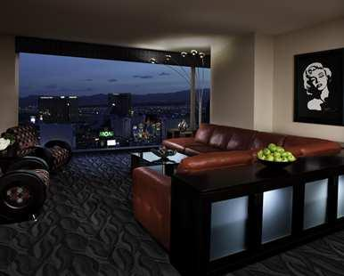 Living room with view of the strip - New Year's Eve in Las Vegas!! - Las Vegas - rentals
