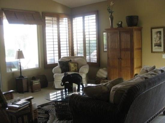 Tommy Bahama Three Bedroom Villa with Private Pool on South Laguna - VPS3ALL - Image 1 - Cathedral City - rentals