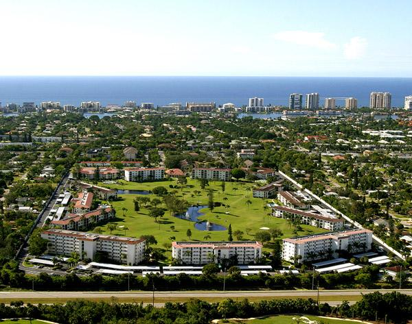 aerial view - Next to Downtown and the Beach - Naples - rentals