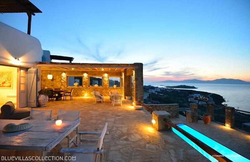 Outdoor area - Blue Villas | Aegean Pearl | Central location - Mykonos Town - rentals