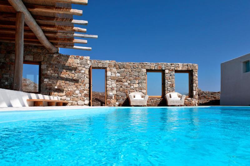 Blue Villas | Honeymoon Villa With Pool | Romantic - Image 1 - Mykonos Town - rentals