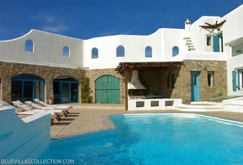 Blue Villas | Sunset | Traditional Villa with view - Image 1 - Mykonos Town - rentals