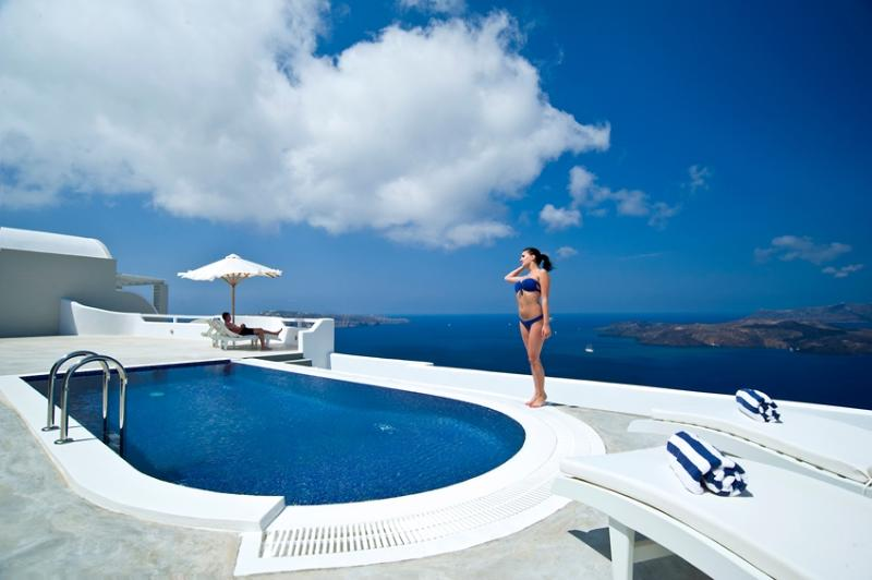 Caldera Honeymoon - Romantic villa in Santorini - Image 1 - Megalochori - rentals