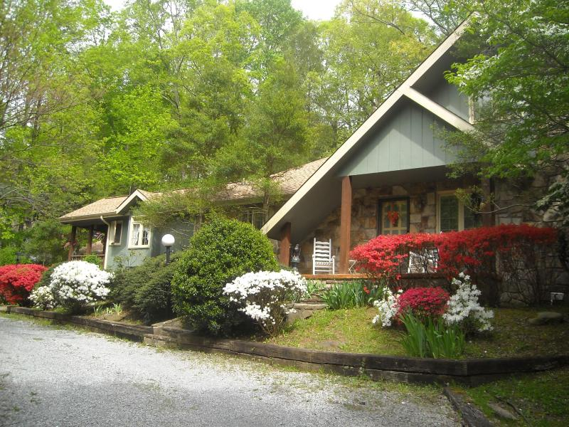 Front view of chalet - Storybook Chalet Bed&Breakfast/Loft Upstairs/For 4 - Gatlinburg - rentals