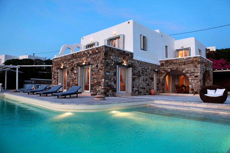 Casa Seaview - Magnificent villa with amazing view - Image 1 - Mykonos - rentals