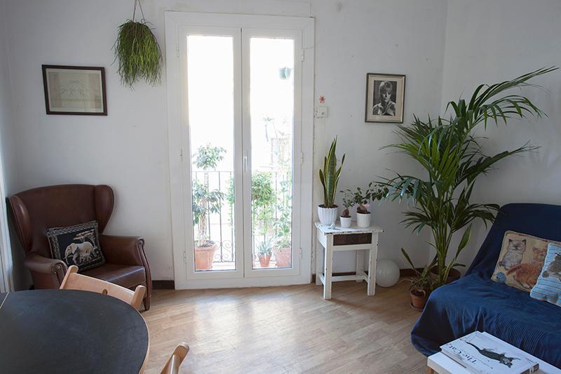 Living Room - Unique flat Barcelona centre - Barcelona - rentals