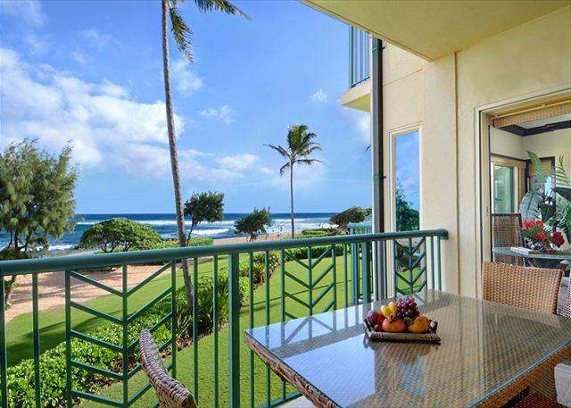 ***BEACH Front Bliss*** 3 beds PRIME LOCATION x3 & FAST Wifi - Image 1 - Kapaa - rentals