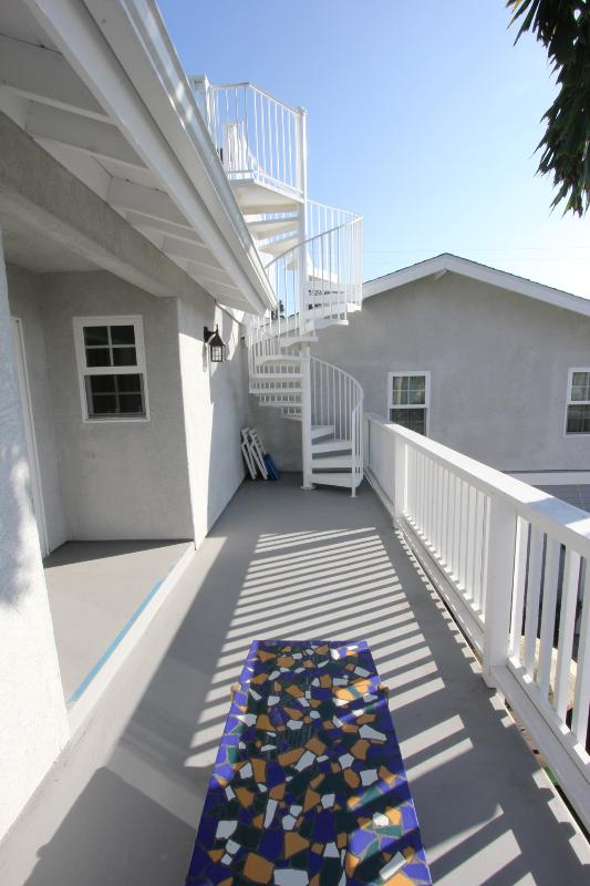 2nd floor roof deck - Sun&Sea San Diego Dreams - Pacific Beach - rentals