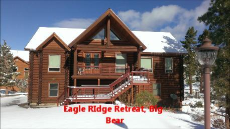 Luxury Log Cabin BIg Bear! Impeccable, upscale! Close to town, dining, skiing,hiking,inner tubing!! - Luxury Authentic Log Cabin, in beautiful Castle Glen Big Bear - Big Bear City - rentals