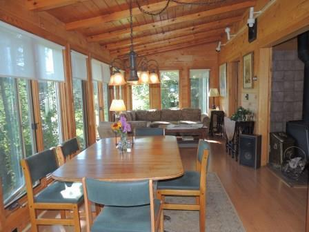 Dining and Living Room - Cabin on the Pond! - Grand Marais - rentals