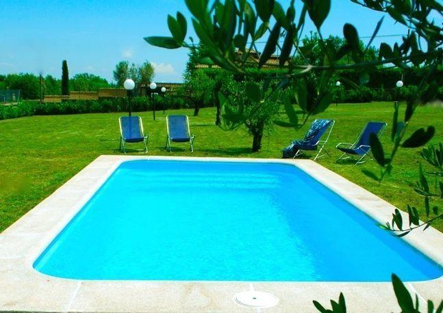 The Pool (salt system, no chlorine) - Countryside Cottage Near Rome, Lake District, Pool - Trevignano Romano - rentals