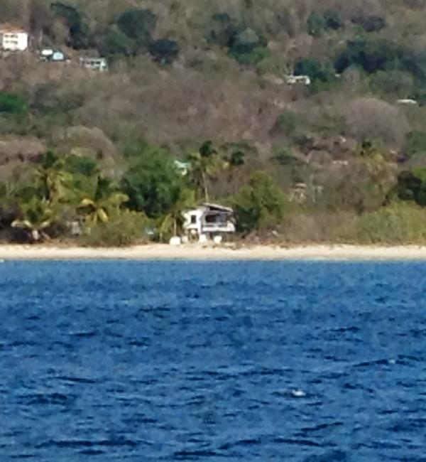 View of Flipkey from the sea - SandX Beach House Carriacou. - Carriacou - rentals
