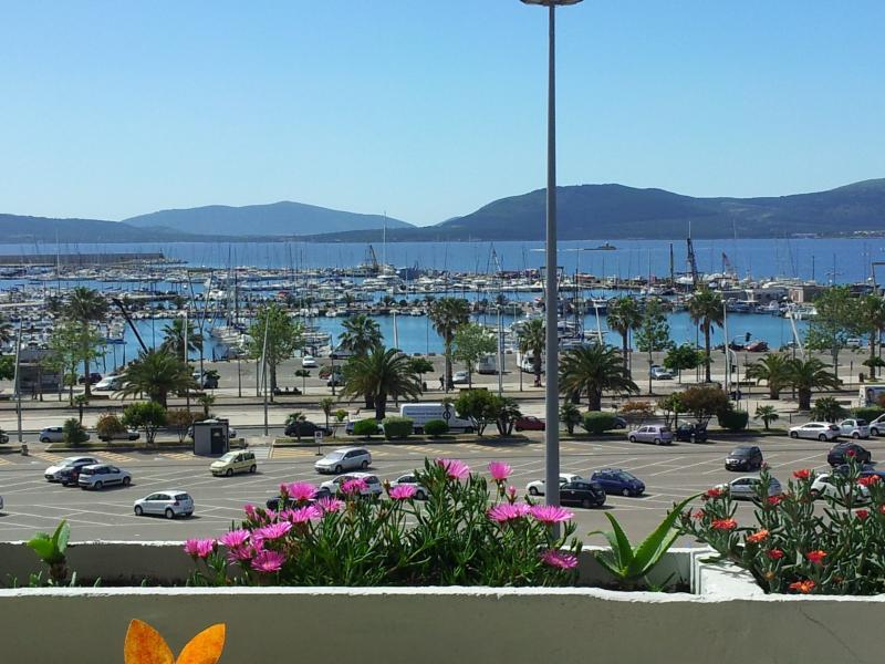 veduta da terrazza casa - ON THE SEA IN CENTER ALGHERO HOUSE WITH WI-FI FREE - Alghero - rentals