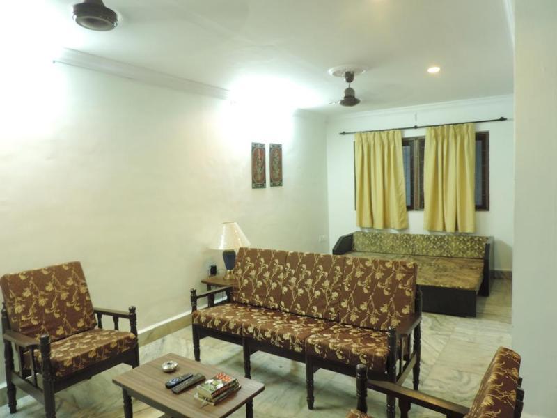 Living Room - 2 BHK Villa Green Palm Holiday Homes - Calangute - rentals