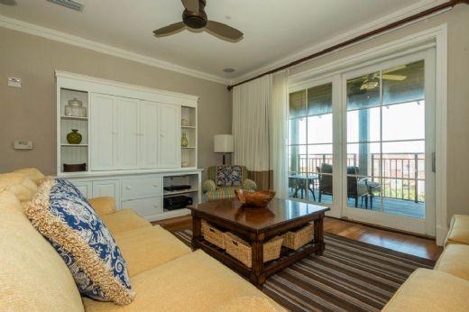 LIving Room 1 - 102 WaterHouse - Watercolor - rentals