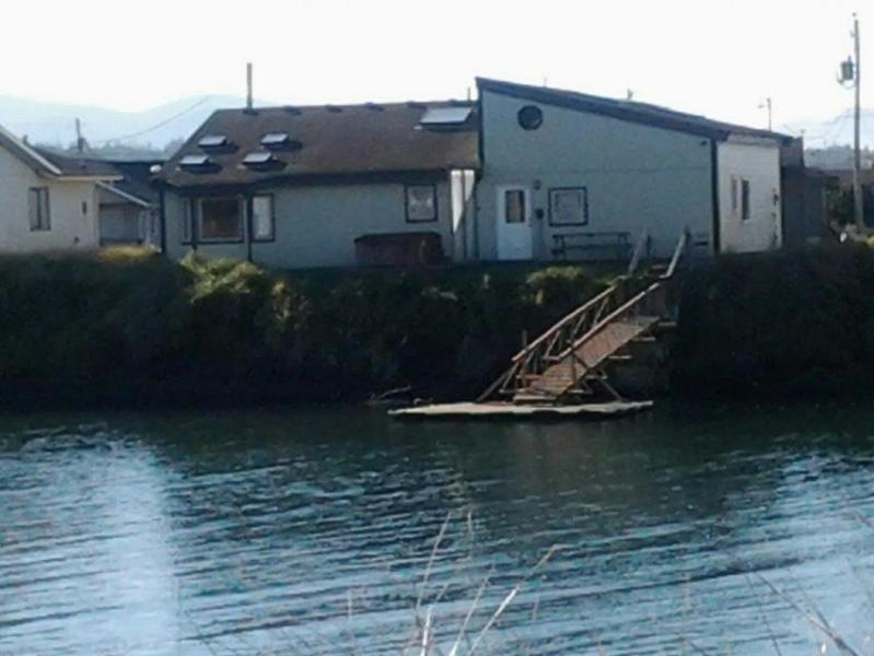 Pet-friendly Bayshore Beach home w/private dock & hot tub! - Image 1 - Waldport - rentals