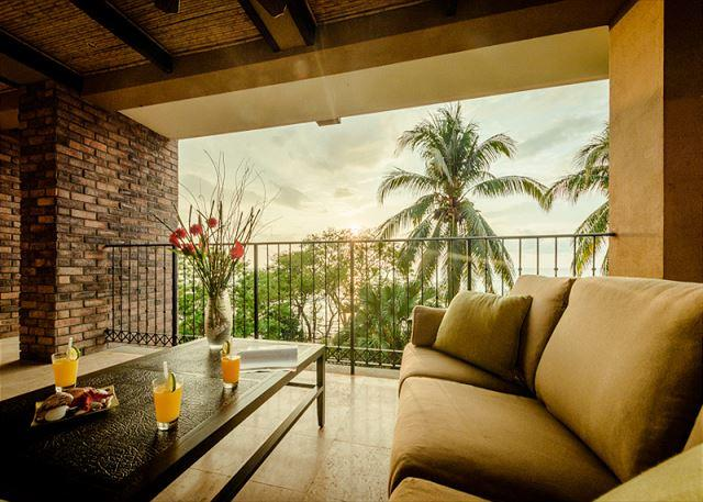 balcony with view - Beachfront views with 3bd 3.5ba on the point in Tamarindo CS203 - Tamarindo - rentals