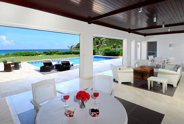 SPECIAL OFFER: St. Martin Villa 175 The Spectacular Views, The Back-drop Of Sky, Sea And The Villa Is Absolutely Stunning. - Image 1 - Guana Bay - rentals