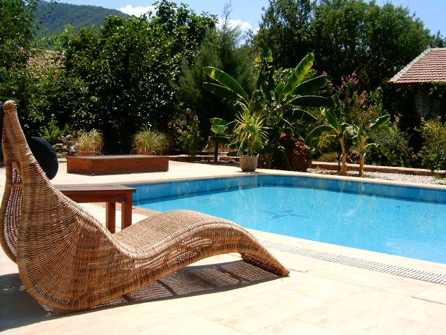 Pool View - The Fig Garden Cottages / Quince Cottage - Kayakoy - rentals